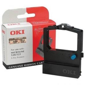 09002315 Festékszalag ML 520, 521 nyomtatókhoz, OKI, fekete