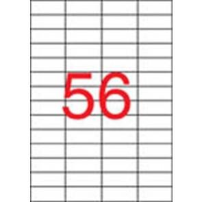 Etikett, univerzális, 52,5x21,2 mm, eltávolítható, APLI, 5600 etikett/csomag