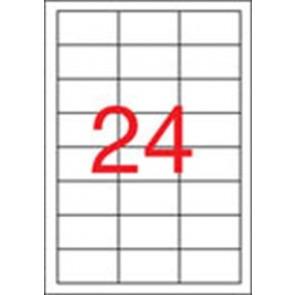 Etikett, univerzális, 64,6x33,8 mm, eltávolítható, APLI, 2400 etikett/csomag