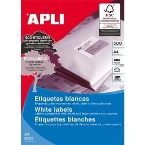 Etikett, univerzális, 105x57 mm, APLI, 5000 etikett/csomag