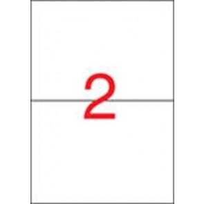 Etikett, univerzális, 210x148 mm, APLI, 50 etikett/csomag
