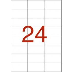 Etikett, univerzális, 70x37 mm, APLI, 240 etikett/csomag