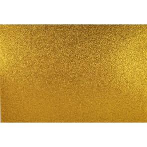 "Moosgumi, 400x600 mm, glitteres, APLI ""Eva Sheets"", arany"