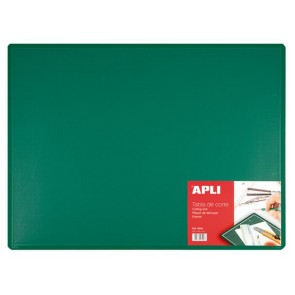 Vágólap, 600x450x3 mm, APLI, zöld