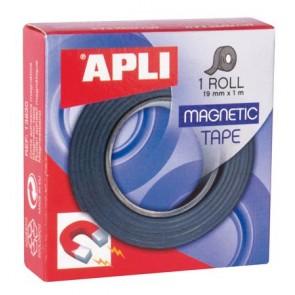 """Ragasztószalag, 19 mm × 1 m, mágneses, APLI """"Magnetic"""""""