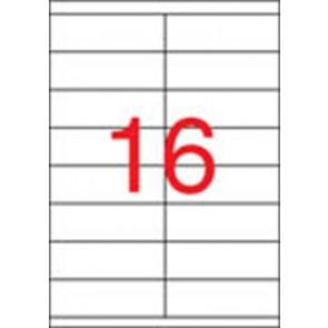 Etikett, univerzális, 105x35 mm, APLI, 8000 etikett/csomag