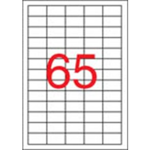 Etikett, lézernyomtatókhoz, 38x21,2 mm, APLI, 16250 etikett/csomag