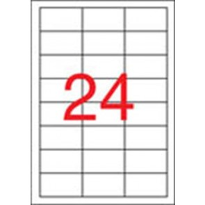 Etikett, univerzális, 64,6x33,8 mm, APLI, 2400 etikett/csomag