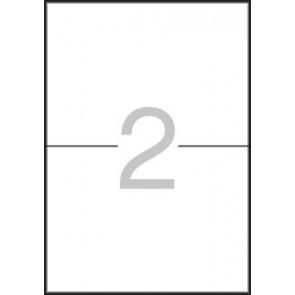 Etikett, 105x148 mm, A5 hordozón, APLI, 30 etikett/csomag