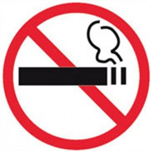 Információs matrica, tilos a dohányzás, APLI