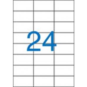 Etikett, univerzális, 70x37 mm, VICTORIA, 2400 etikett/csomag