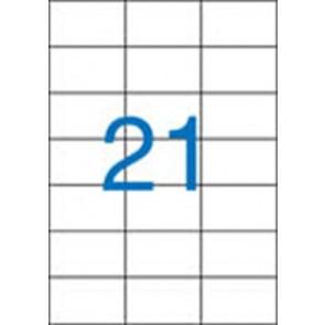 Etikett, univerzális, 70x42,4 mm, VICTORIA, 2100 etikett/csomag
