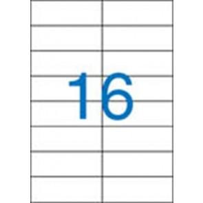 Etikett, univerzális, 105x37 mm, VICTORIA, 1600 etikett/csomag