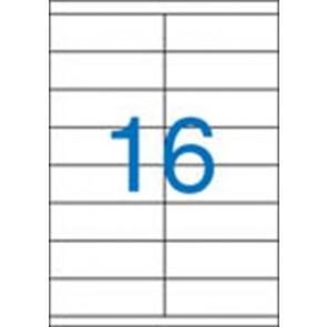 Etikett, univerzális, 105x35 mm, VICTORIA, 1600 etikett/csomag