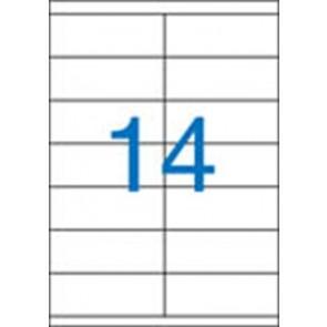 Etikett, univerzális, 105x40 mm, VICTORIA, 1400 etikett/csomag