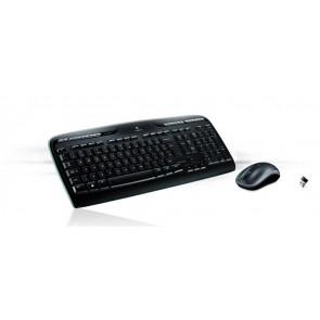 """Egér- és billentyűzet készlet, vezeték nélküli, USB, HUN, LOGITECH """"MK330"""", fekete"""