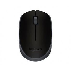 """Egér, vezeték nélküli, optikai, közepes méret, USB, LOGITECH """"M171"""", fekete"""