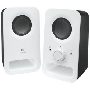 "Hangszóró, 2.0, 6W, LOGITECH ""Z150"", fehér"
