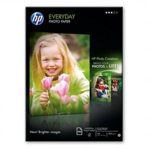 Q2510A Fotópapír, tintasugaras, A4, 200 g, fényes, HP