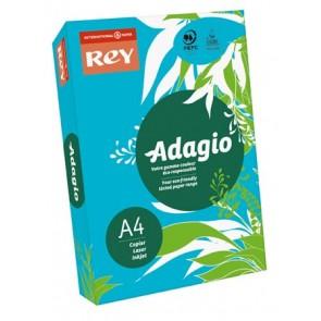 """Másolópapír, színes, A4, 80 g, REY """"Adagio"""", intenzív kék"""