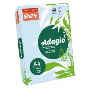 """Másolópapír, színes, A4, 80 g, REY """"Adagio"""", pasztell kék"""