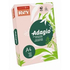"""Másolópapír, színes, A4, 80 g, REY """"Adagio"""", pasztell rózsaszín"""