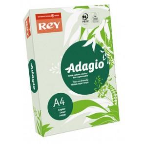"""Másolópapír, színes, A4, 80 g, REY """"Adagio"""", pasztell zöld"""