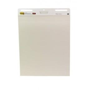 Meeting chart, öntapadó, 63,5x77,5 cm, 30 lap, 3M POSTIT, fehér