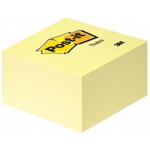 Öntapadó jegyzettömb, 76x76 mm, 450 lap, 3M POSTIT, sárga