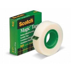 """Ragasztószalag, 19 mm x 33 m, 3M SCOTCH """"Magic Tape 810"""""""