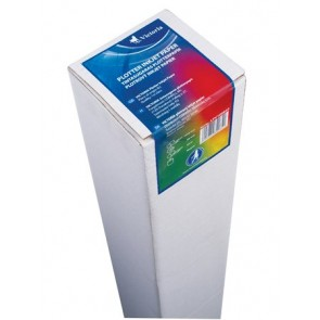 Plotterpapír, tintasugaras, 610 mm x 90 m x 50 mm, 90g, VICTORIA