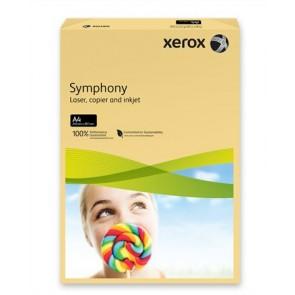 """Másolópapír, színes, A4, 160 g, XEROX """"Symphony"""", vajszín (közép)"""