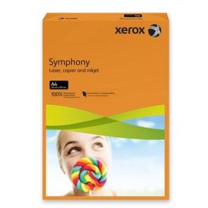 """Másolópapír, színes, A4, 80 g, XEROX """"Symphony"""", narancs (intenzív)"""