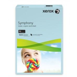 """Másolópapír, színes, A4, 80 g, XEROX """"Symphony"""", kék (közép)"""