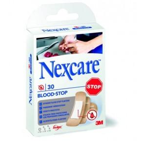 """Sebtapasz, vérzéscsillapító, 30 db, 3M """"Nexcare Blood Stop"""""""
