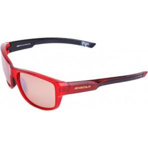"""Napszemüveg HD lencsével, AVATAR """"Red Knight"""", piros"""