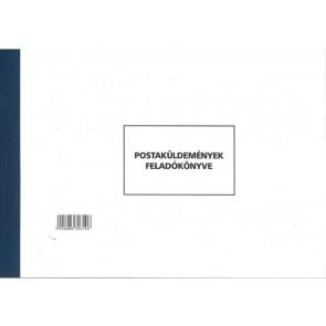 """Nyomtatvány, postaküldemények feladókönyve (postakönyv), ÁLLAMI NYOMDA """"C.7976-12"""""""