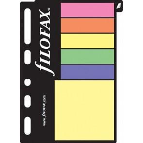 Kalendárium betét, öntapadó jelölőcímke és jegyzet, kicsi, FILOFAX, színes