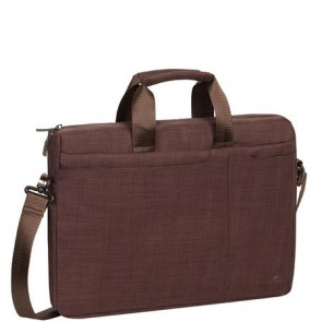 "Notebook táska, 15,6"", RIVACASE ""Biscayne 8335"", barna"
