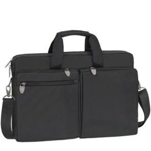 "Notebook táska, 17.3"", RIVACASE ""Tiergarten 8550"", fekete"