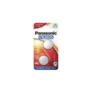 Gombelem, CR2025, 2 db, PANASONIC
