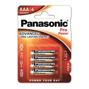 "Elem, AAA mikro, 4 db, PANASONIC ""Pro power"""