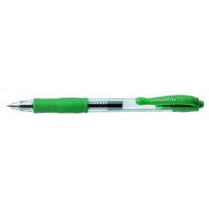 "Zseléstoll, 0,25 mm, nyomógombos, PILOT ""G-2"", zöld"
