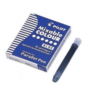 """Töltőtoll patron, PILOT """"Parallel Pen"""", kék"""