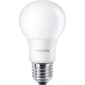 """LED izzó, E27, gömb, A60, 5W, 470lm, 4000K, PHILIPS """"CorePro"""""""