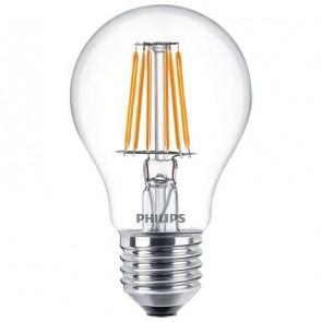 LED izzó, E27, normál, 6W, 2700K, A60, PHILIPS