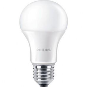"""LED izzó, E27,gömb, 12,5W, 1521lm, 230V, 4000K, A60, PHILIPS """"CorePro"""""""