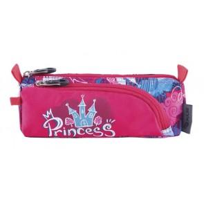 "Tolltartó, cipzáras, PULSE ""Castle Princess"", pink"