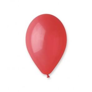 Léggömb, 30 cm, piros