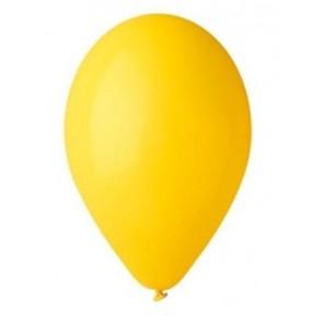 Léggömb, 26 cm, citromsárga